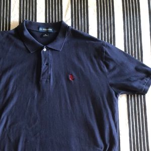 Men's navy US Polo shirt